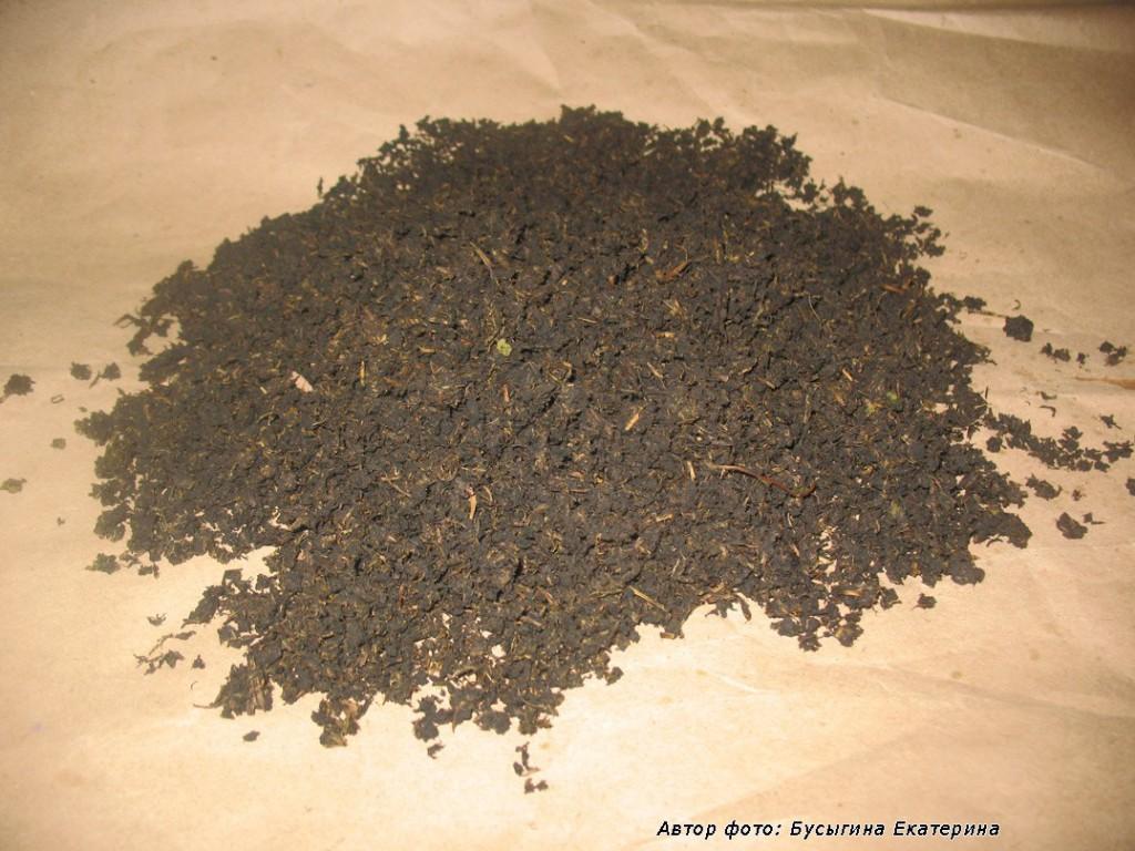 Гранулированный высушенный иван-чай