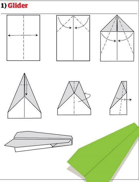 Как сделать Бумажный самолетик Я сам умею, я сам могу сделать